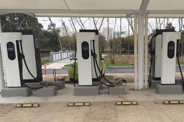 新能源汽车充电桩有哪几种高清图片