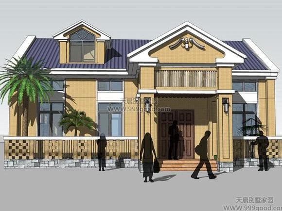 2x13.8米农村别墅设计图,原来建成后是这样!