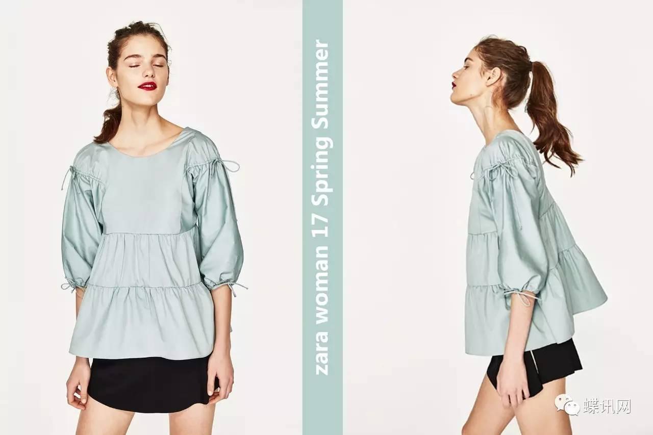 品牌 | ZARA 17春夏女装系列:最In流行元素潮这看