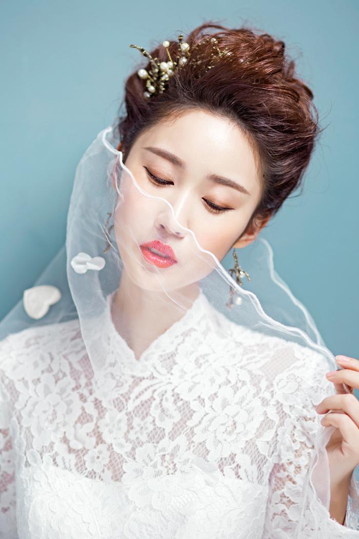 最经典最唯美的新娘造型图片