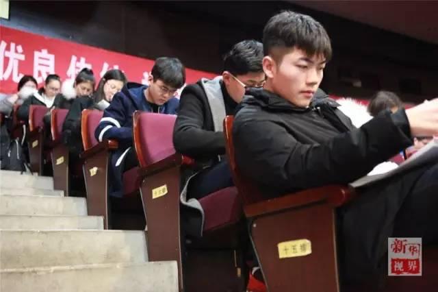 一名考生参加北影动画学院初试.(北京电影学院提供)图片