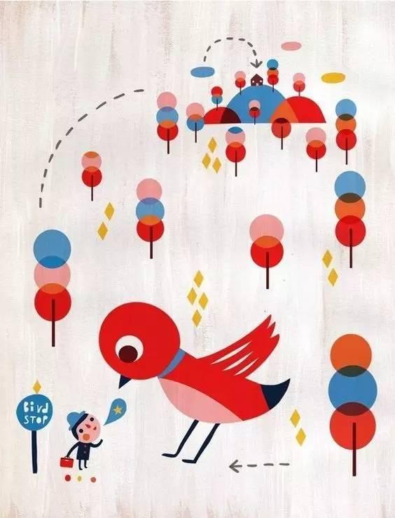 艺术鉴赏 │ 温馨治愈的儿童插画澳洲海鲜