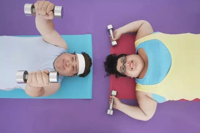 运动减肥太慢图片