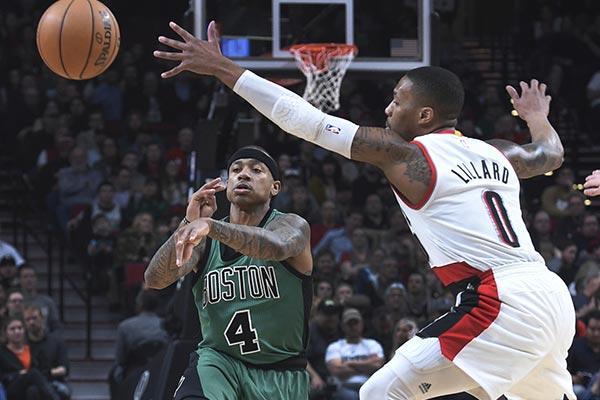NBA|小托马斯34分末节砍15分,凯尔特人胜开拓者