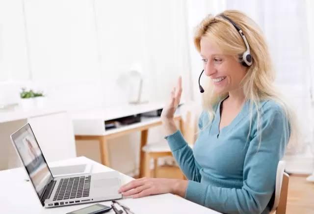 gogotalk的孩子们每个月上课超过15次只要有网络随时随地都能上课.