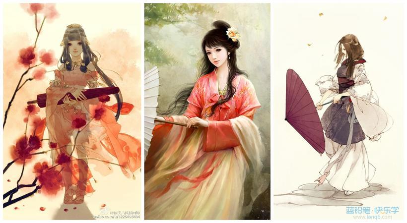 古风美人最爱摆这些姿势画法你知道几个?