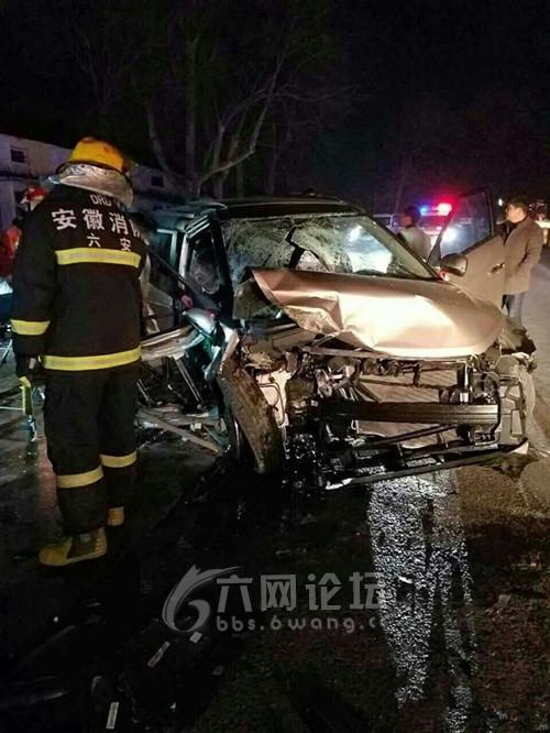 六安车祸_昨日六安舒城发生单方交通事故!当地民警迅速出警