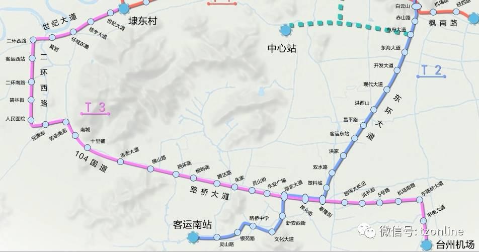 求最新路桥机场规划图