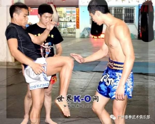 泰拳训练之肘膝的距离感