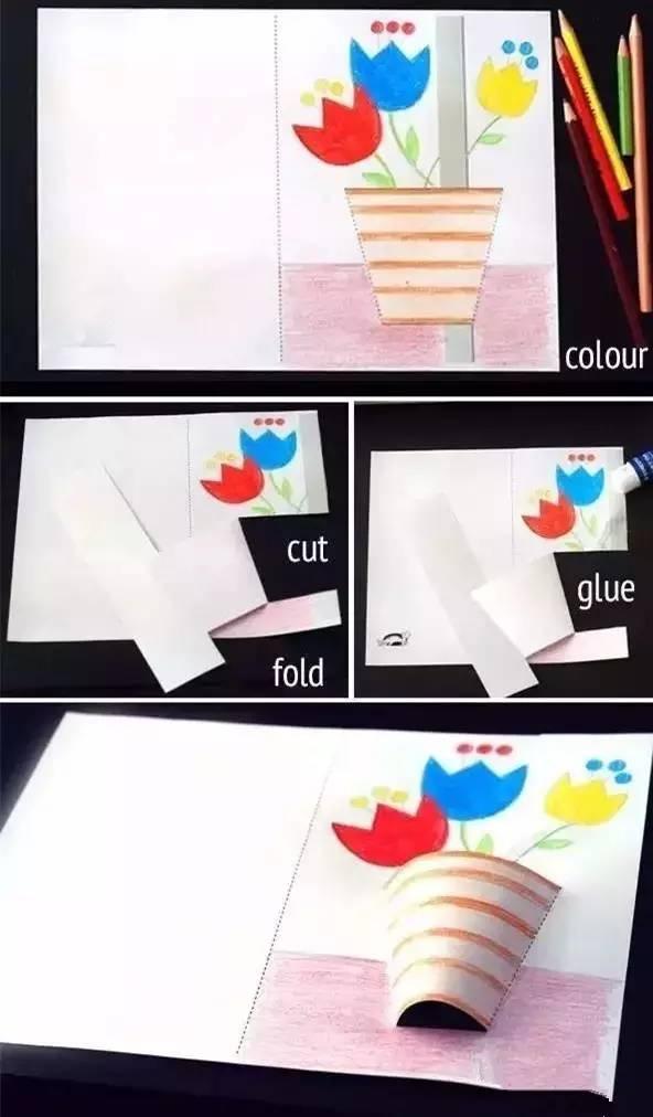 纸盘手工制作鲸鱼