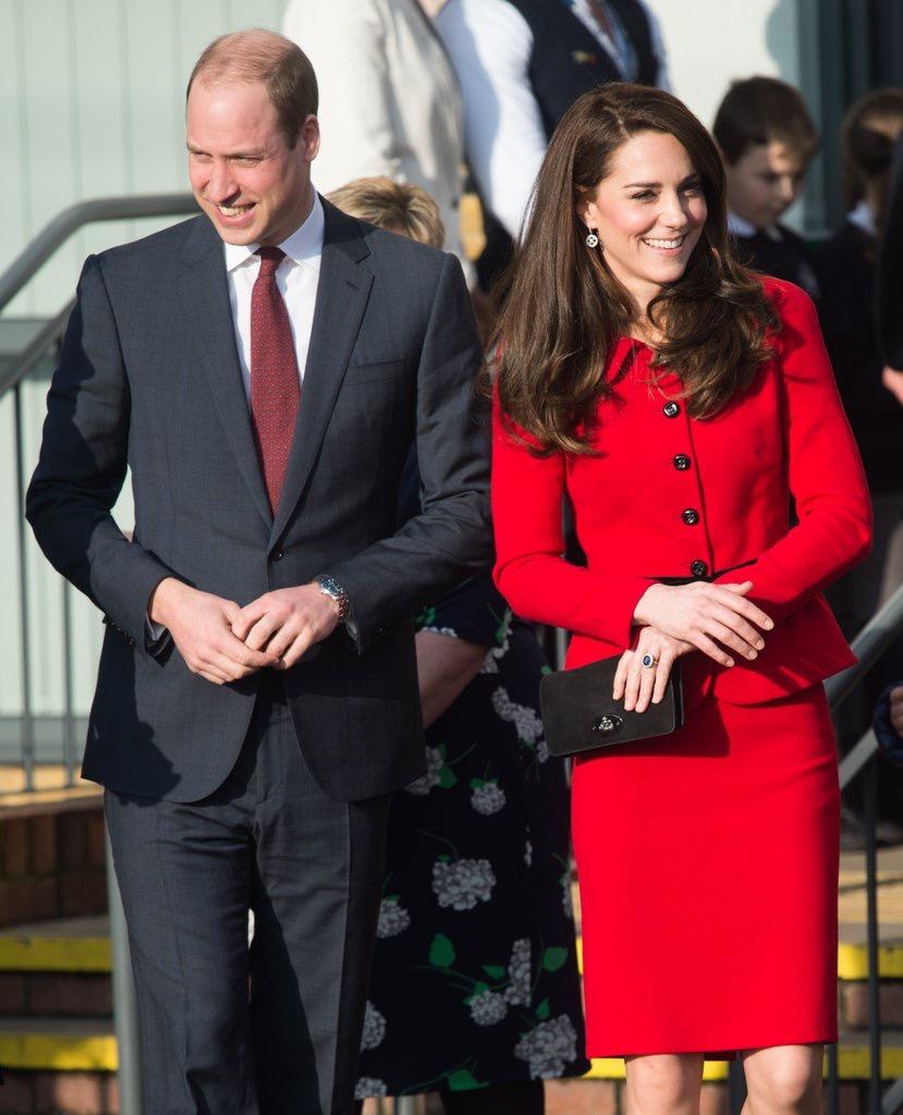 威廉王子与凯特王妃情人节要分开过,缘由竟是……