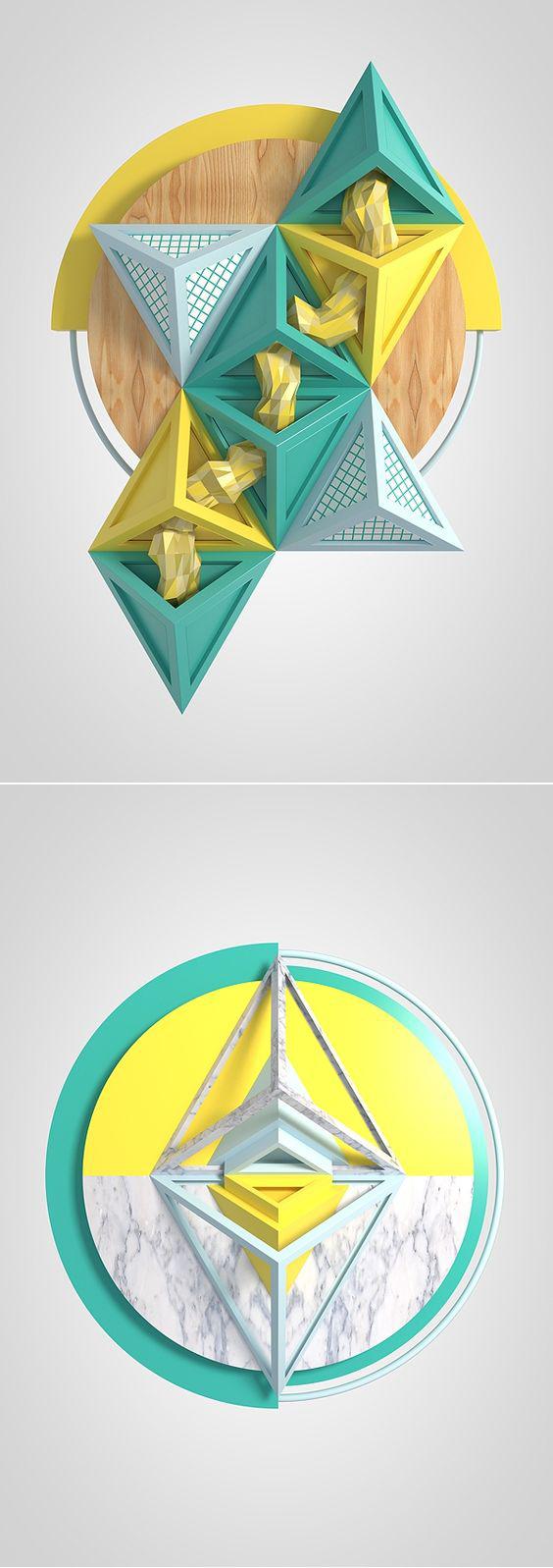 平面设计新手入门—《立体构成》