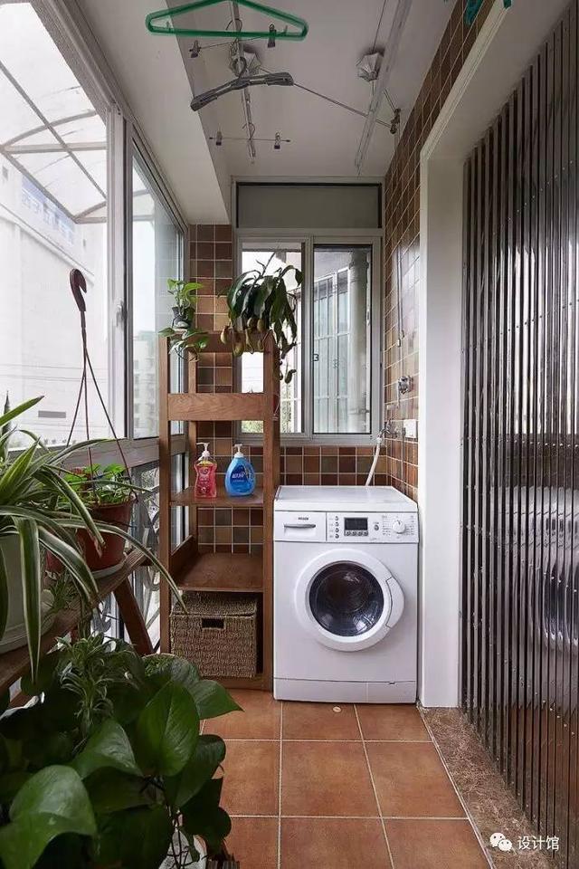 二,洗衣机厨房——嵌入式的极致利用图片
