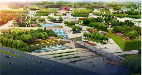 """卓绝""""歌、寿""""大旨河池园博园筹办面积3640亩"""