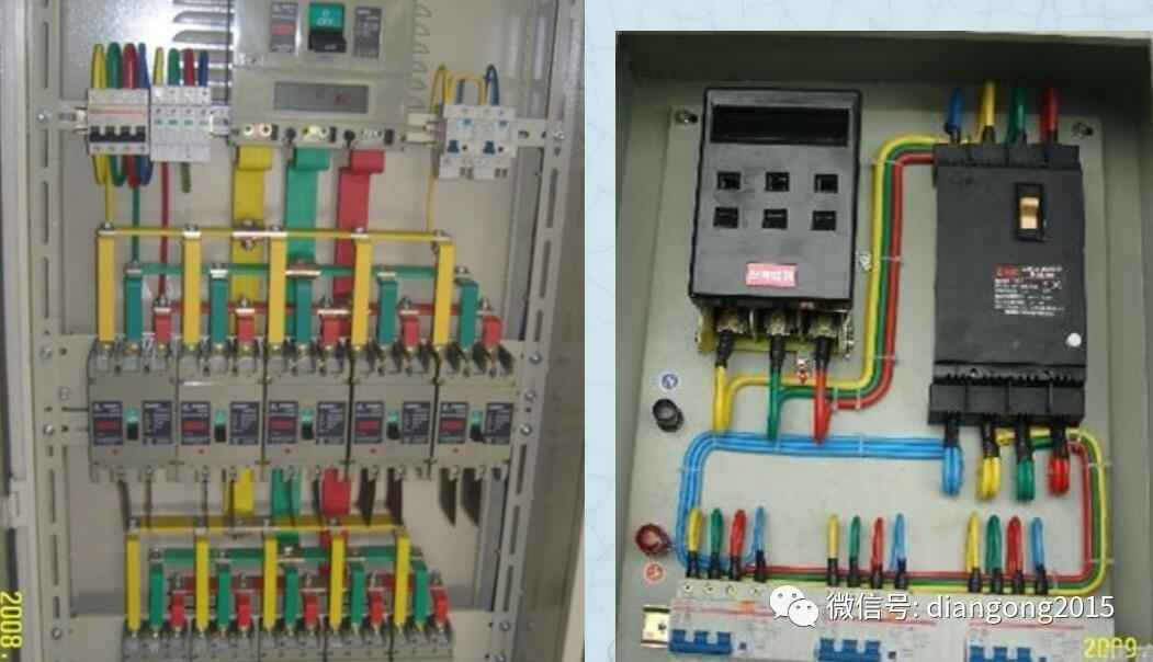 配电箱控制柜接线图