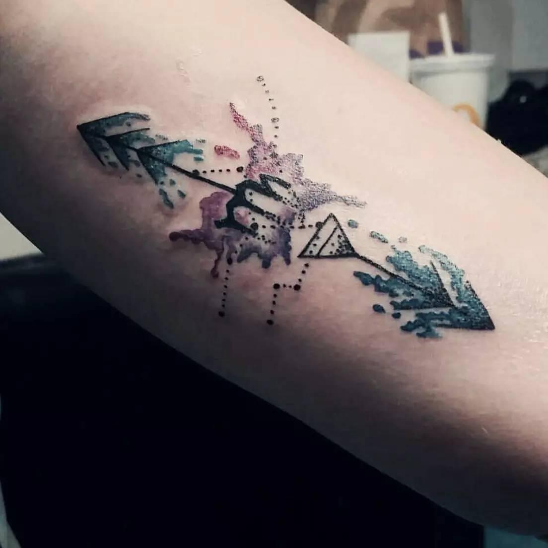纹身|处女座图案