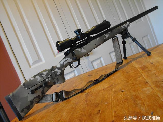 美军的m40 狙击步枪 威力可以打死大象