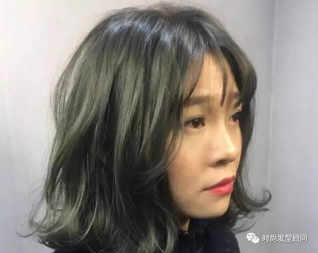 2017--中发流行这样烫!2017女士流行发型短发图片