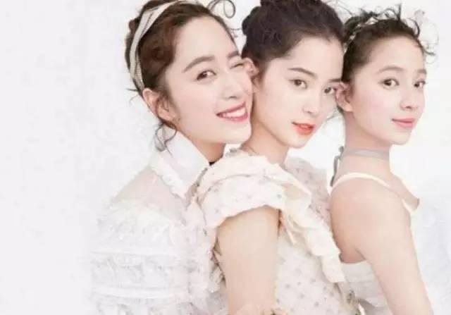 欧阳家一共三个女儿,欧阳妮妮,欧阳娜娜,欧阳娣娣.图片