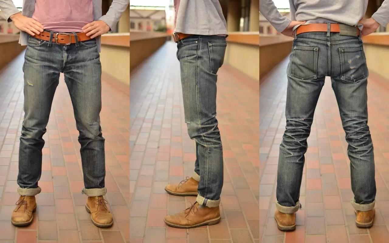 原牛就是说这条牛仔裤在制作过程中不缩水,不磨白,不破坏加工,就直接