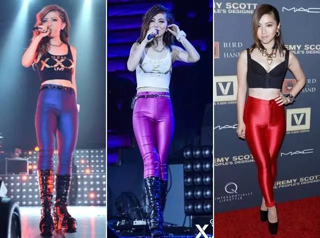 李小璐新造型似18岁,然而红皮裤才是 亮点