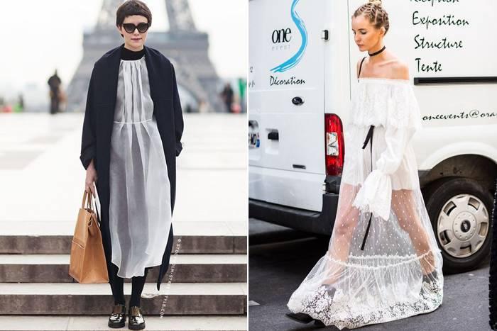 2017年流行的裙子和衬衫
