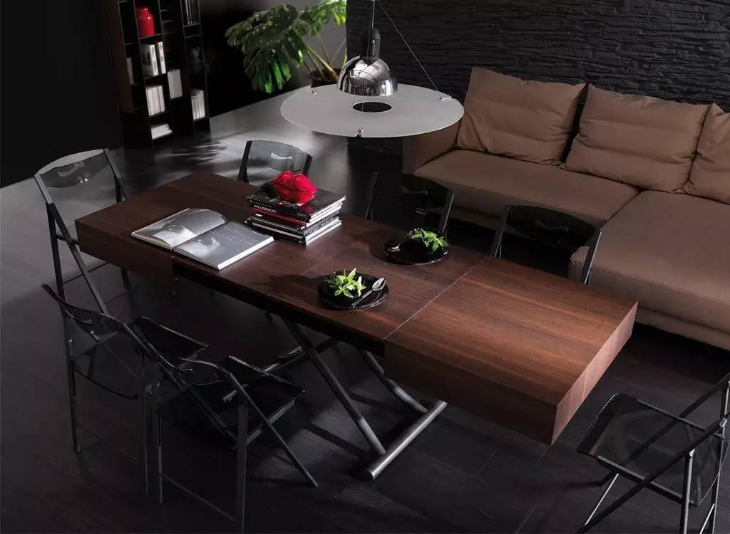 时尚 正文  resource家具品牌的折叠桌 伸缩变换可大可小    官网