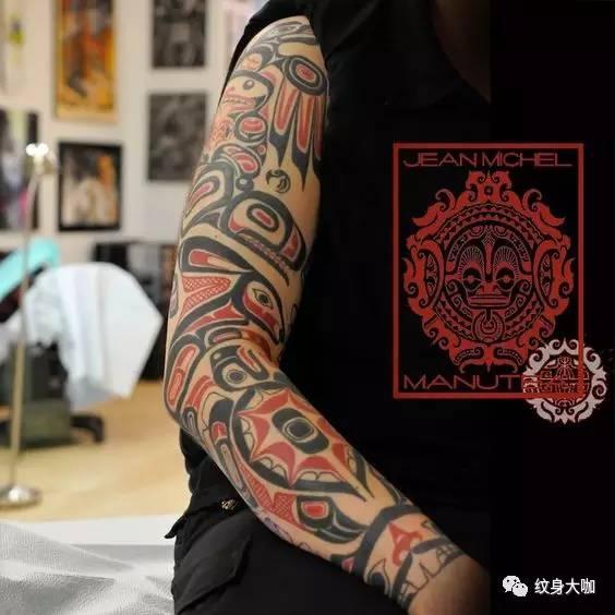 纹身素材:图腾