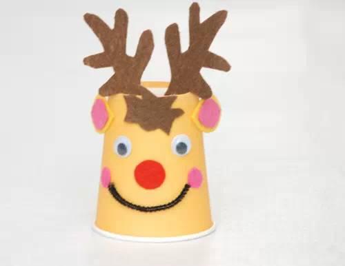 手工 彩色纸杯DIY小动物大集合,带着孩子一起试试吧