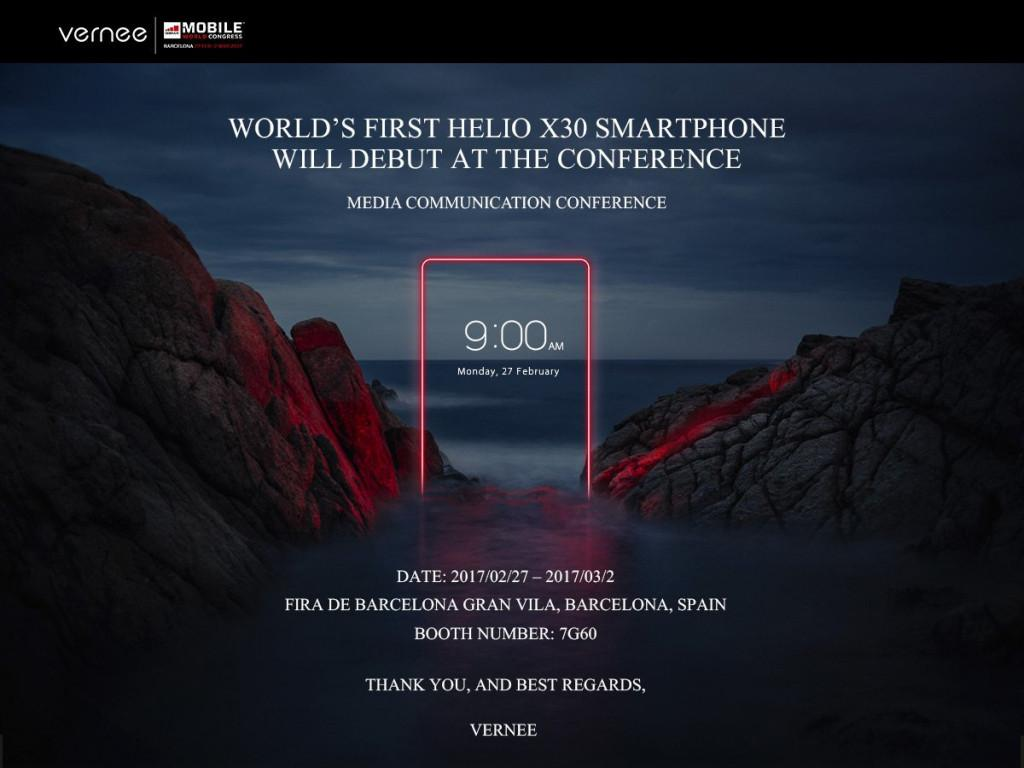 直面联发科HelioX30,8GB+128GB横扫市场