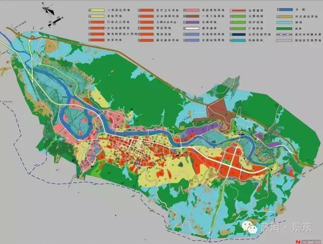 景东城区发展规划图