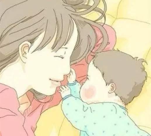写在情人节:希望你是我的好妈妈。
