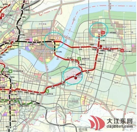 地铁内部人 大江东地铁8线不及格,房子给投资客