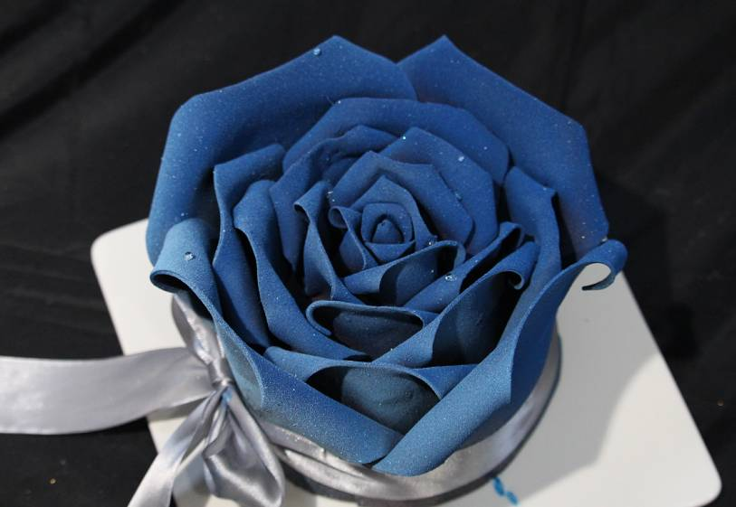 全球烘焙星空巧克力手工玫瑰花蛋糕课程 将教你怎样制作,漂亮的