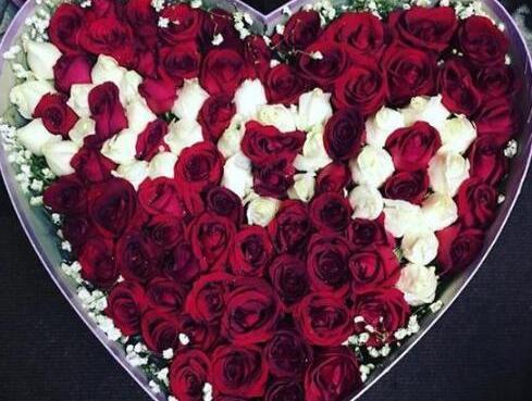 超有爱!陈伟霆情人节送玫瑰花表白粉丝