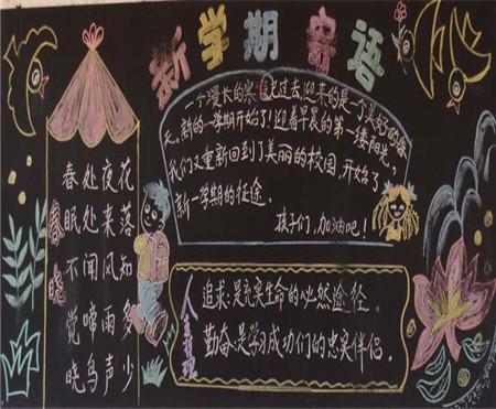 黑板报花边纹样设计1000例 新学期黑板报
