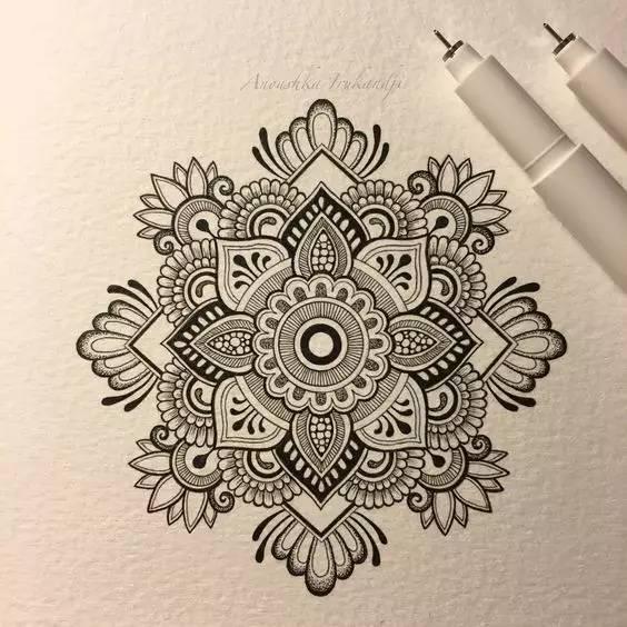 梵花纹身赏析