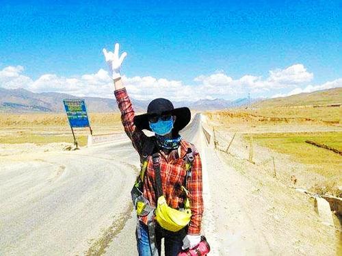 老司机说,100元去川藏线旅游就只能去要饭
