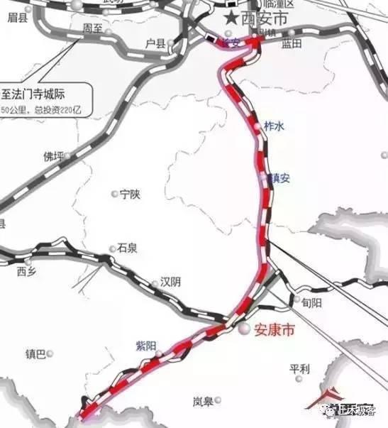 线路利用延安至包头高铁的一部分从绥德向东经吴堡至太原.