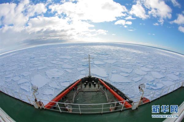 中国为新建第5个南极考察站的优化选址作业已全部完成(组图)