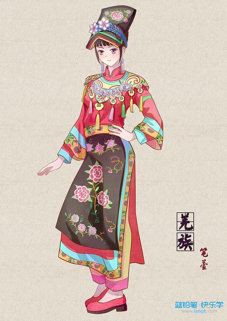 原来少数民族的传统服饰这么美