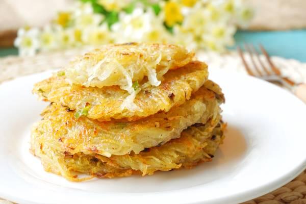 最好吃的土豆丝饼,我养你啊