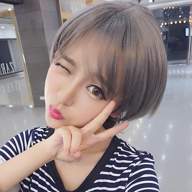 2017年有流行的发型女生?女明星为您引领短发颜色什么短发头发好看图片欣赏图片