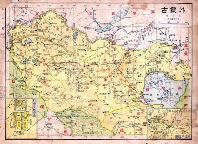 但当时的北洋军阀忙于相互倾轧, 此时,在库伦,蒙古王公和俄国残