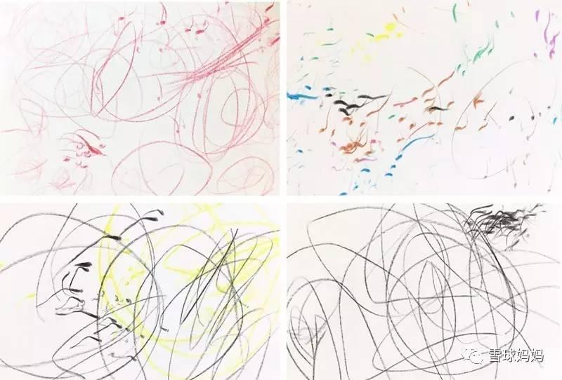 雪球一岁半到两岁时的画-千万不要教孩子画简笔画
