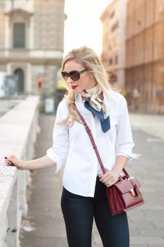 有了丝巾, 承包你一个春天的优雅与时髦!