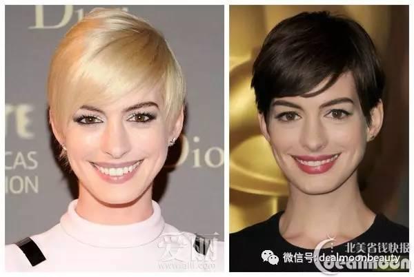 护肤|皮肤立马白一度,换个头发颜色竟然差这么多!