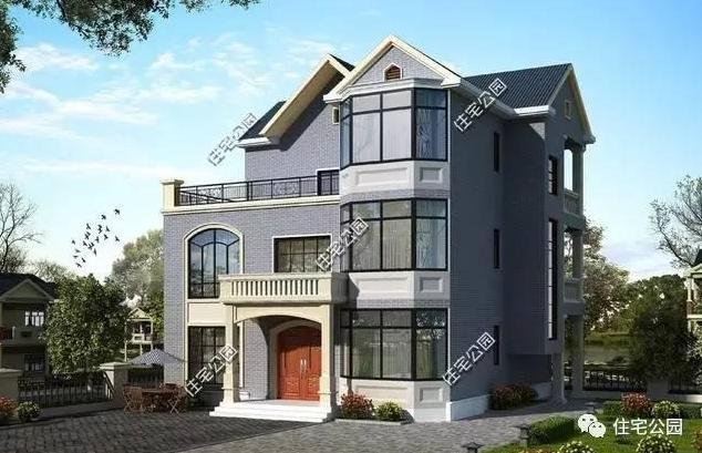 13x12米农村别墅,经济实用,全图 预算