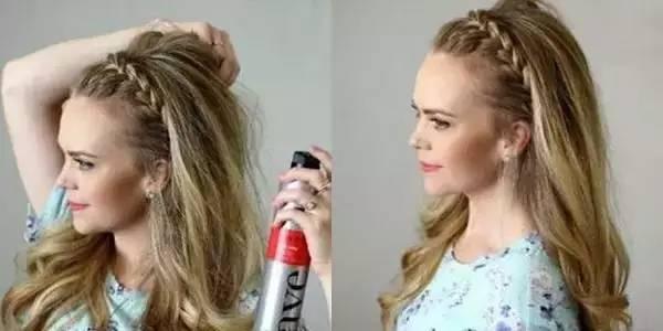 step11:发型整理好后,喷上少量定型品,这样发型就打造完成了.图片