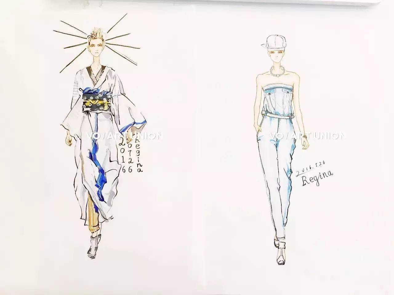 课程| 服装手绘效果图 四大亮点 大神玩转新颖艺术形式